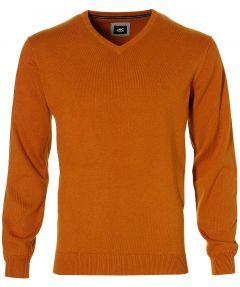 sale - Jac Hensen pullover - regular fit - cognac