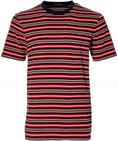 Scotch & Soda T-shirt - slim fit - blauw