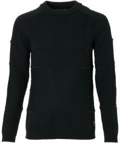 Scotch & Soda pullover - slim fit - zwart