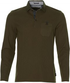 Ted Baker polo - slim fit - groen