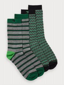 Scotch &Soda 2-pack sokken - groen