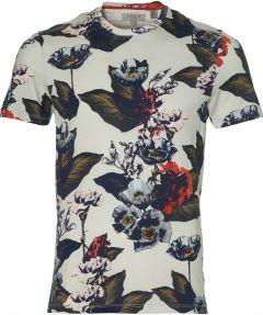 Ted Baker t-shirt - slim fit - grijs