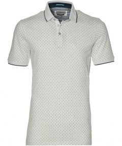 Ted Baker polo - extra lang - wit