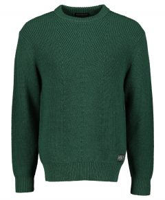 Scotch & Soda pullover - slim fit - groen