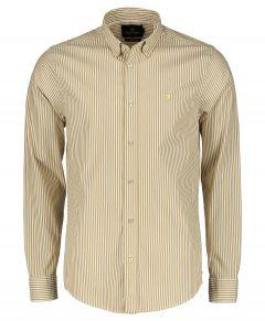 Scotch & Soda overhemd - slim fit - beige