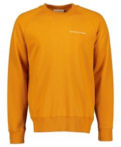 Scotch & Soda sweater - slim fit - oker