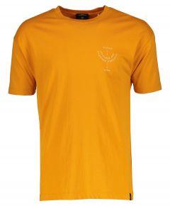 Scotch & Soda T-shirt - slim fit - oker