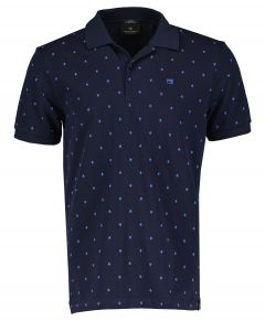 Scotch & Soda polo - slim fit - blauw