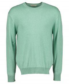 Scotch & Soda pullover - slim fit- groen