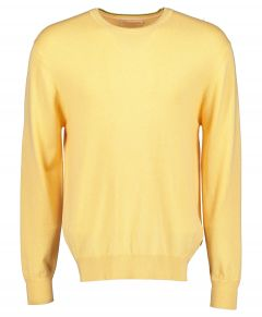 Scotch & Soda pullover - slim fit- geel