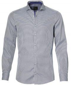 sale - Venti overhemd - extra lang - blauw