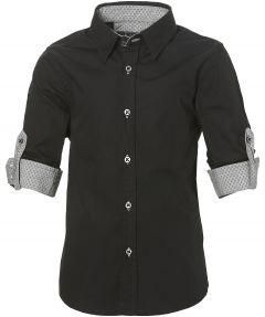 Nils overhemd - kids - zwart