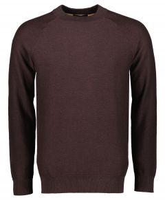 Scotch & Soda pullover - slim fit - bruin