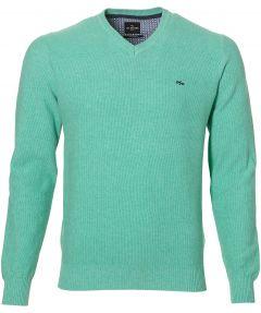 sale - Jac Hensen pullover - modern fit - groen