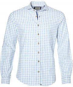 sale - Hensen overhemd - extra lang - blauw