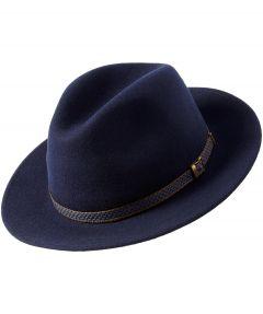 Hoed - blauw