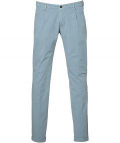 Four.ten pantalon - slim fit - blauw