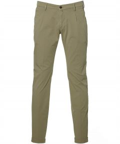 Four.ten pantalon - slim fit - groen