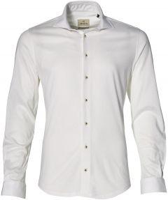 Hensen overhemd - extra lang - wit