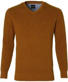 Jac Hensen pullover - extra lengte - oker
