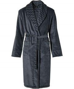 Jac Hensen badjas - modern fit - grijs