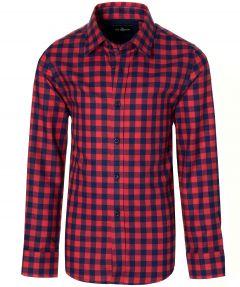 Jac Hensen overhemd - kids - rood