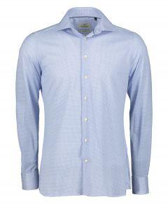 Hensen overhemd - extra lang - blauw