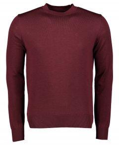Nils pullover - slim fit - bordeaux