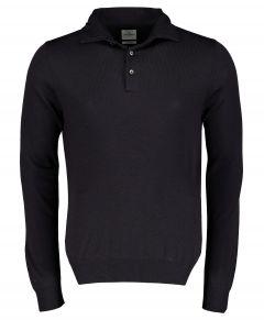Jac Hensen Premium pullover - slim fit -blauw