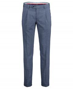 Meyer pantalon Milano - slim fit - blauw