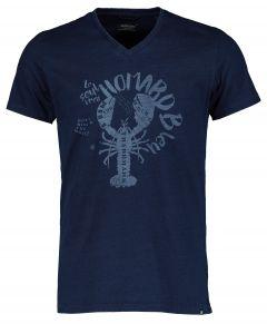Dstrezzed t-shirt - slim fit - blauw