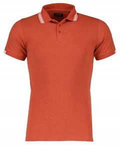 Dstrezzed polo - slim fit - rood