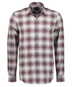 Jac Hensen overhemd - extra lang - rood