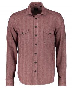 Jac Hensen overhemd - modern fit - bordeaux