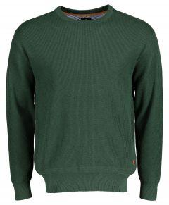 Jac Hensen pullover - extra lang - groen