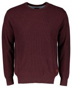 Jac Hensen pullover - extra lang - bordo