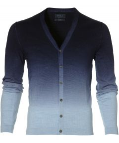 sale - Nils vest - slim fit - blauw