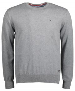 Jac Hensen pullover - extra lang - grijs