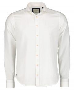 Hensen overhemd - slim fit - wit