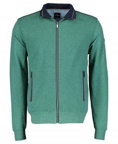 Jac Hensen vest - modern fit - groen