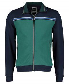 Jac Hensen vest - modern fit - blauw