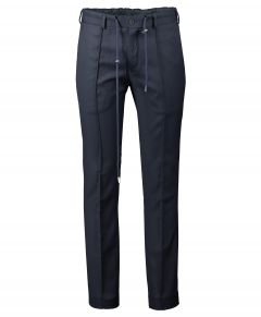Nils mix & match pantalon - slim fit - blauw