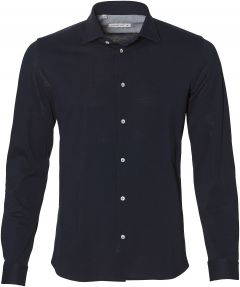 sale - Manuel Ritz overhemd - slim fit - blau