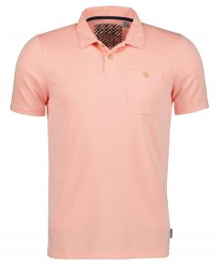 Ted Baker polo - modern fit - zalm