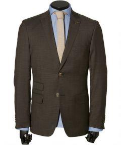 sale - Jac Hensen kostuum - modern fit - bruin