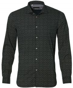 sale - Manuel Ritz overhemd - slim fit - groen