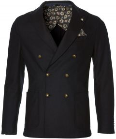 sale - Manuel Ritz colbert - slim fit - blauw