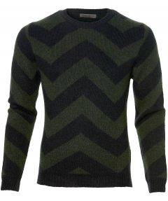 sale - Manuel Ritz pullover - slim fit - blau