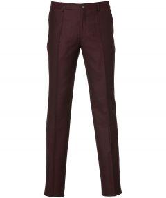 sale - Nils pantalon - slim fit - bordo