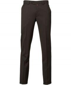 Meyer pantalon Roma - regular fit - bruin